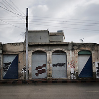 SYRIA - Al Qsair. A street in Al Qsair, on January 24, 2012. Al Qsair is a small town of 40000 inhabitants, located 25Km south-west of Homs. The town is besieged since the beginning of November and so far it counts 65 dead. ALESSIO ROMENZI