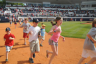Mississippi fans run the bases following the game vs. LSU at Oxford-University Stadium on Sunday, April 25, 2010 in Oxford, Miss. Ole Miss won 7-6 to sweep the three game series