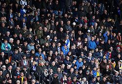Bristol Rovers fans at Barnet - Mandatory byline: Robbie Stephenson/JMP - 09/01/2016 - FOOTBALL - The Hive Stadium - Barnet, England - Barnet v Bristol Rovers - Sky Bet League Two