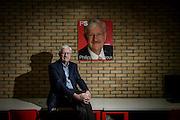 Philippe Moureaux,  Belgian politician, senator, former mayor of Molenbeek-Saint-Jean, and professor of economic history at the Université Libre de Bruxelles poses for the portrait at 'Maison de Egalite' in Brussels, Belgium on 01.03.2016 by Wiktor Dabkowski
