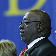 Deputy Superintendent of the Colonial School District Carlton Lampkins, Ed.D. attends William Penn commencement exercises Monday, June 08, 2015, at The Bob Carpenter Sports Convocation Center in Newark, Delaware.