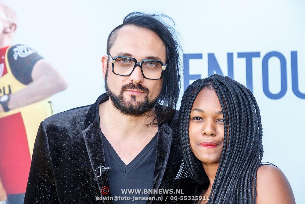 NLD/Utrecht/20150512 - Filmpremiere Ventoux, Blaudzun, Johannes Sigmond en partner