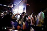 OHIO, Toledo, October 28, 2012:  General Halloween atmosphere  in a club in Toledo. ALESSIO ROMENZI