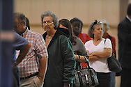 Voting on a $30 million school bond referendum at the Oxford Activity Center in Oxford, Miss. on Tuesday, October 26, 2010.