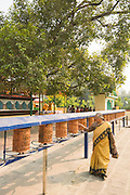 Sarnath, 12 km from the Hindu holy city of Varanasi, is a sacred destination for Bhuddhists - the site of the deer park where Gautama Buddha first taught the Dharma after his enlightenment. Sarnath is one of four holy Buddhist sites sanctioned by the Buddha himself for pilgrimage.