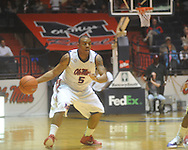 "Ole Miss guard Dundrecous Nelson (5) at the C.M. ""Tad"" Smith Coliseum in Oxford, Miss. on Thursday, December 29, 2010. Ole Miss won 100-62. (AP Photo/Oxford Eagle, Bruce Newman)"