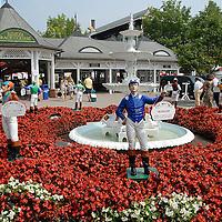 Saratoga Race Tracks' Main Gate