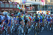 Lance Armstrong races at theDown Under Classic 51km road race on Sunday, January 18, 2009 in Adelaide, South Australia. The 51km race in the City of Adelaide is prelude to the 1st of the Stage 1 of the Pro Tour Race which starts on Tuesday..