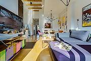 Modern bright colourful interior near Krakow Poland Photography by Piotr Gesicki