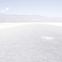 Badwater, Death Valley 2008.<br />