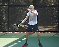 Ole Miss tennis player Nik Scholtz vs. Baylor at the Palmer/Salloum Tennis Center in Oxford, Miss. on Thursday, March 14, 2013.