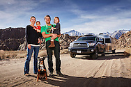 Zimmerman Family, Alabama Hills BLM, California