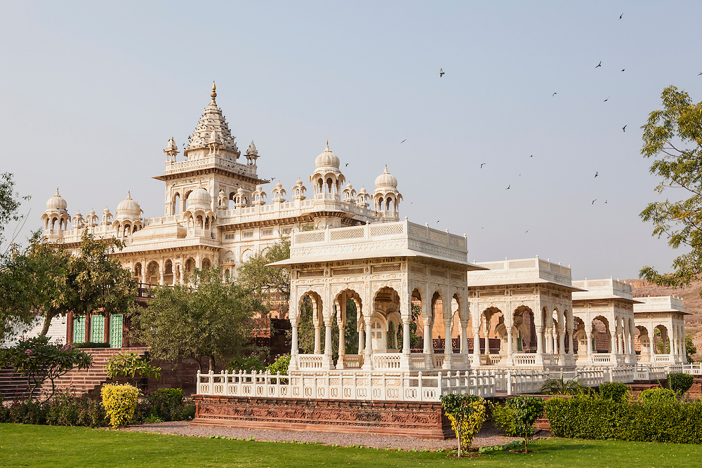 Jaswant Thada a monument and memorial s in Jodhpur, Rajasthan, India.