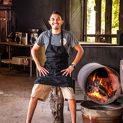 Michael Aaron Hernanadez, pitmaster Hays Co. BBQ in San Marcos, Texas. At 20, one of the youngest pitmasters in the Texas Monthly Top 50.