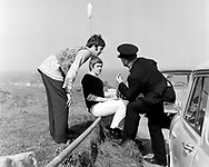 The Beatles 1967 Paul McCartney at start of Magical Mystery Tour in Cornwall...© Chris Walter..