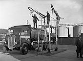 1959 - C.I.E. fuel tanks at Dublin Docks.