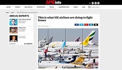 AMEinfo magazine, UAE; Dubai airshow