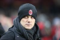16.01.2017 - Torino - Serie A 2016/17 - 20a giornata  -  Torino-Milan  nella  foto: Vincenzo Montella allenatore del Milan