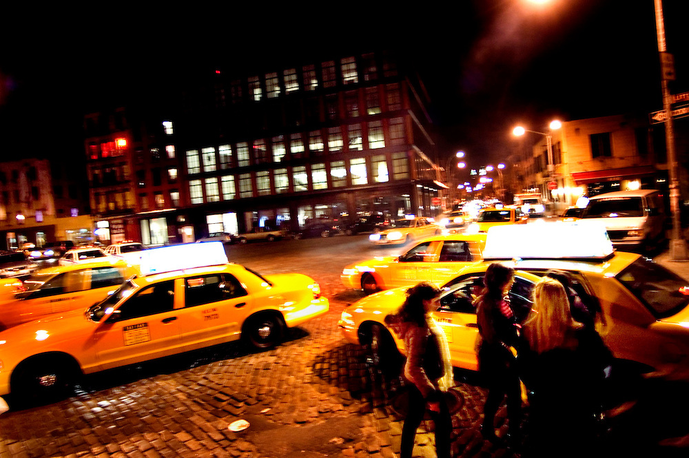 Nightlife in the Meatpacking District, Manhattan, New York City
