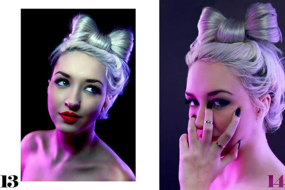 Model, hair &amp; make up ~ Bryony Kirkham<br />