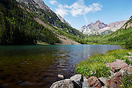Maroon Lake, Maroon Bells-Snowmass Wilderness, Colorado
