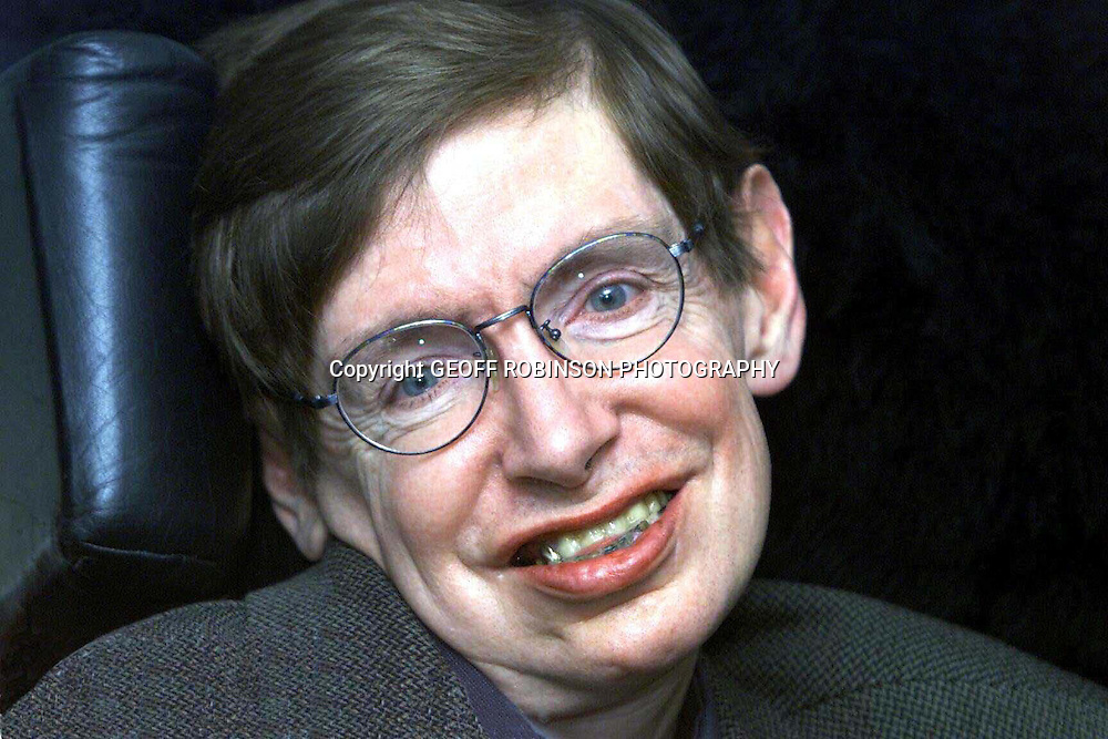 .The world's most famous scientist Prof Stephen Hawking and author of Brief History of Time ..