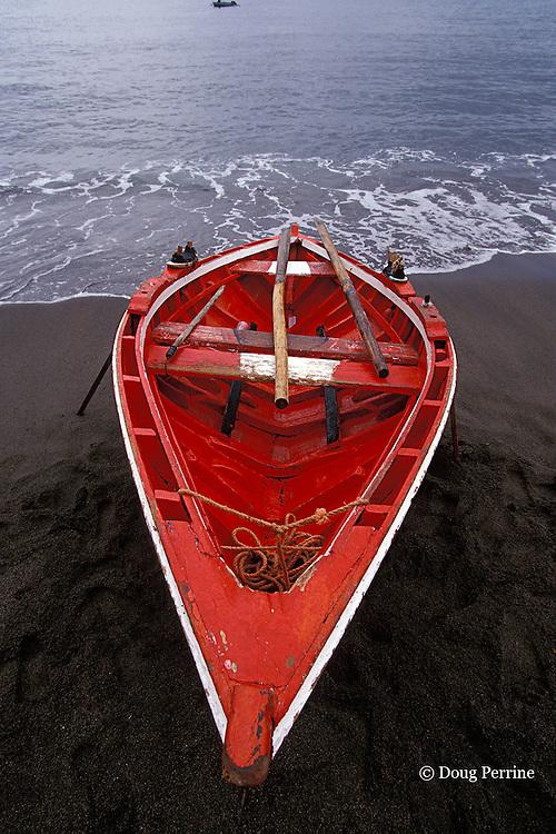 fishing boat, Barrouallie, Saint Vincent,  St. Vincent & the Grenadines, West Indies ( Eastern Caribbean Sea )