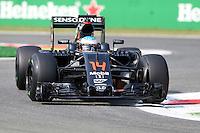Fernando Alonso  - McLaren  Honda -  Monza 02.09.2016 - Formula 1 Gran Premio d'Italia- Prove Libere