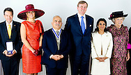 MIDDELBURG - King Willem-Alexander, Queen Maxima, Princess Beatrix, Princess Margriet and Pieter van Vollenhoven attends the award ceremony of the Four Freedoms Awards 2014 in the Nieuwe Kerk in Middelburg, The Netherlands, 24 May 2014. The Roosevelt foundation and the US Franklin and Eleanor Roosevelt Institute award Maryam Durani for freedom of Speech, Prince El Hassan bin Talal of Jordan for Freedom of Worship, Dr. Hawa Abdi Diblaaw for Freedom from Want (represented by her daughter Dr Deqo Aden Mohamed), Malala Yousefzai for Freedom from Fear and the Four Freedoms Award to the International Committee of the Red Cross. COPYRIGHT ROBIN UTRECHT