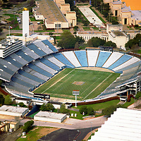 Aerial Photograph of the Cotton Bowl in Dallas, Texas