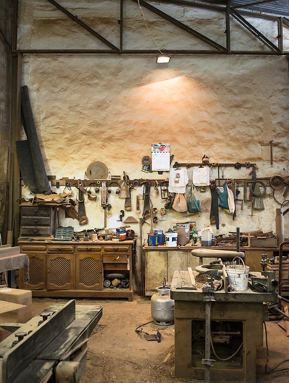 Designer Zanini and his workshop. Rio. For Nespresso Magazine
