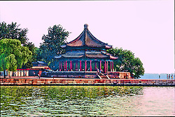 Dock along the Emperor's Summer Palace