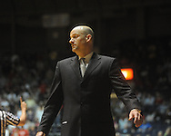 "Ole Miss coach Andy Kennedy at the C.M. ""Tad"" Smith Coliseum in Oxford, Miss. on Wednesday, November 17, 2010. Ole Miss beat Murray State 77-61."