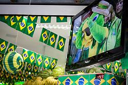 Copa do Mundo 2010, dia de jogo entre selecoes brasileira e chilena./ World Cup 2010 day match between Brazil and Chile. Sao Paulo, Brazil - 2010