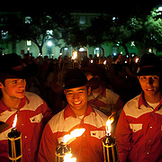 Torchlight Parade at the University of Texas at Austin