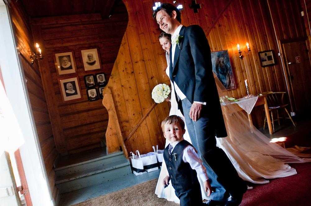 Gry Larsen and Casper Claudi Rasmussen's wedding