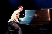 Ben Folds performs solo at the Chaifetz Arena on the campus of St. Louis University, April 16th, 2010