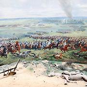 Panorama of the Battle of Waterloo / Waterloo, Belgium