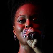 MUSIC 2014 - American Grammy Award-winning singer Chrisette Michele., performs at The Bob Carpenter