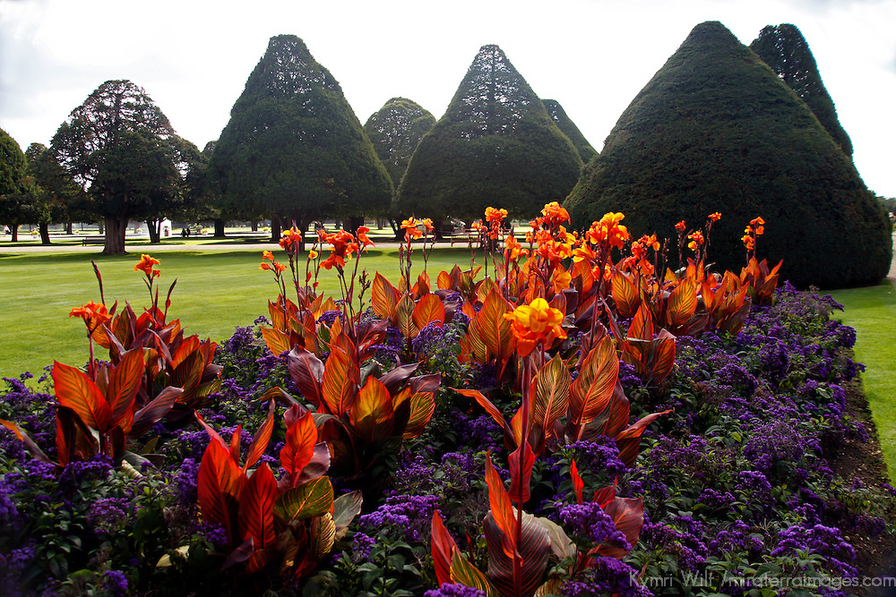 Unitd Kingdom, England, Richmond upon Thames. The gardens of Hampton Court Palace,