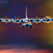 Hercules final approach