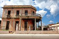 Building in Cardenas, Matanzas, Cuba.