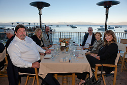 2011 Concours d'Elegance opening night dinner at the West Shore Cafe, Lake Tahoe.