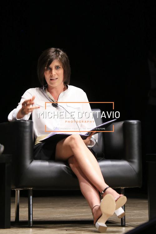 Chiara Appendino, candidata sindaco del Movimento 5 Stelle. Torino 14 giugno 2016