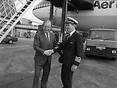 1982 - Taoiseach C.J.Haughey meets pilot  P40