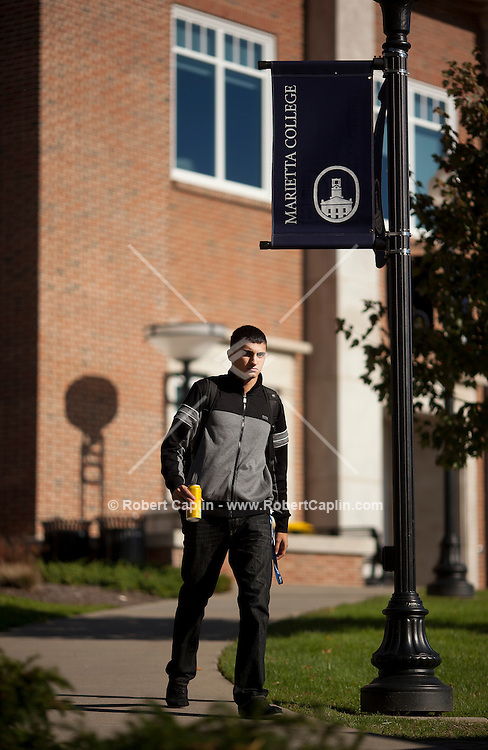 Marietta College Campus Shoot. ..Photo © Robert Caplin...