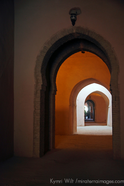 Africa, Morocco, Meknes. The royal granaries of Moulay Ismail.