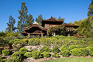 Historic Japanese House in Japanese Garden at The Huntington, San Marino, California