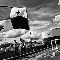 """CANALEROS"" MIRAFLORES LOCKS - PANAMA CANAL"