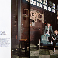 Reproduction for Cate Blanchett and Andrew Upton photos in Du Magazine, Switzerland.
